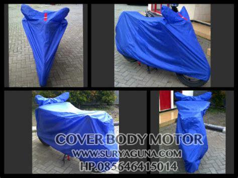 Cover Selimut Pelindung Motor Jumbo Murah Kuat Bagus sarung motor byson berkualitas suryaguna distributor