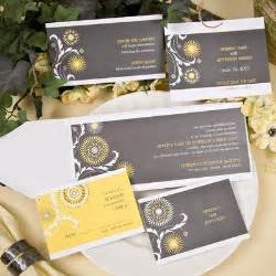 yellow and grey wedding invitations uk wedding colors letters page 2