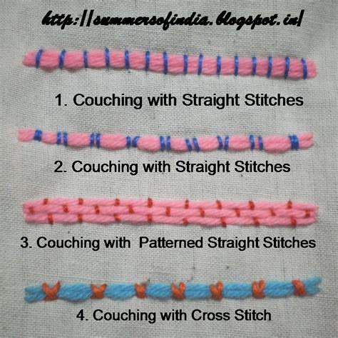 Summersofindia Couching Stitches 1