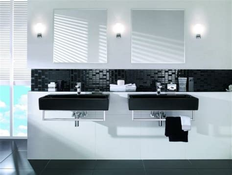 modern black and white bathroom ideas bold beautiful black and white bathroom design ideas
