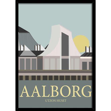 Plakat Aalborg by Plakater Og Malerier Til V 230 Ggen Find Inspiration Hos