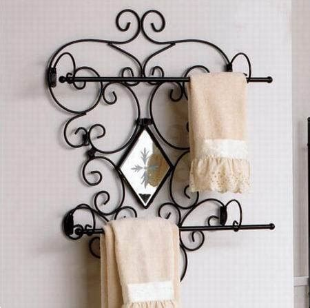 wrought iron bathroom towel bars china bathroom wrought iron towel bar lf0041 china