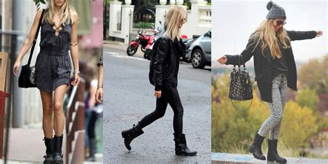 how to wear boots with how to wear biker boots