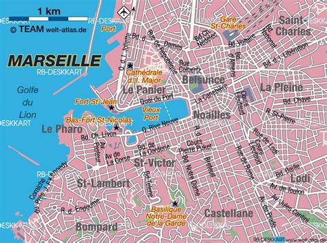 map of marseille marseille map englishman in marseille