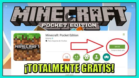 Play Store Minecraft Descarga Todas Las Versiones De Minecraft Pocket Edition