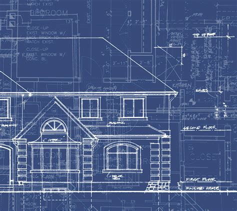 blue prints for homes blue print houses