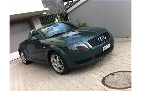 Audi Tt Roadster 1 8 T by Audi Tt Roadster 1 8 T Chf 9 900 Voiture D Occasion