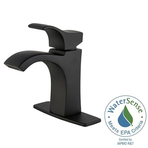 black faucets for bathroom pfister venturi 4 in centerset single handle bathroom