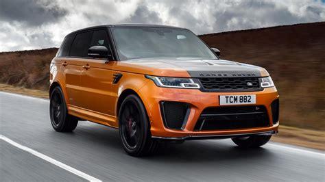 orange range rover svr range rover sport svr 2018 eerste rij indruk topgear