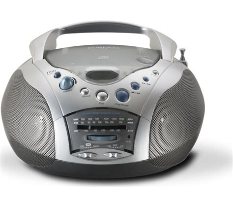 Cd S With S With U buy fm am boombox grey silver free