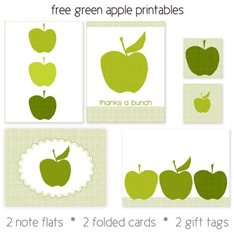 printable apple gift tags apple picking and free printable apples stationery set