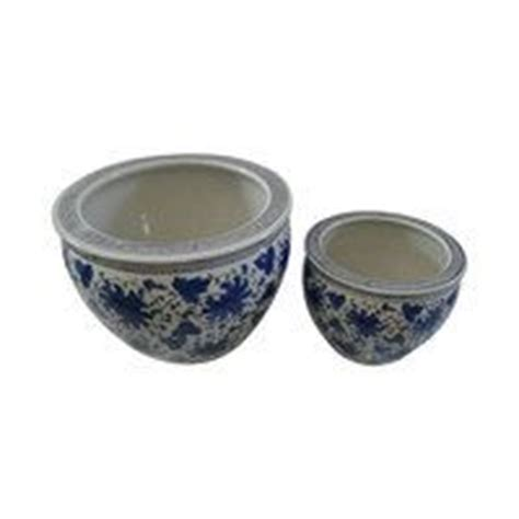 10 diameter ceramic pot blue and white 10 best images about flower pots fishbowls and planters