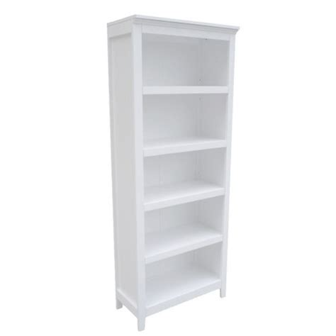 Carson 5 Shelf Bookcase Threshold Target Target Bookcases White