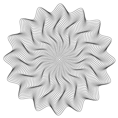 how to make a zigzag pattern in illustrator how to create vector wavy vortex in adobe illustrator