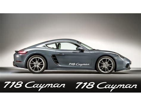 Porsche Cayman Aufkleber by Aufkleber Passend F 252 R Porsche 718 Cayman Aufkleber 2stk