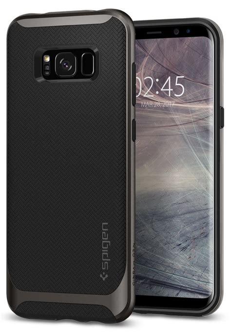 Spigen Samsung Galaxy S8 5 8 Neo Hybrid Blue Coral spigen neo hybrid skal till samsung galaxy s8 plus gunmetal themobilestore