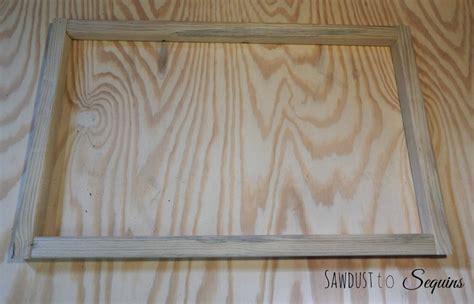 Wooden Door Mat by Diy Workshop Wooden Door Mat Sawdust To Sequins