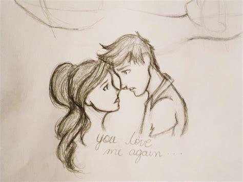 cute cuple hug and kissing sketch pics original size of image 585981 favim com