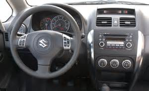 Suzuki Sx4 Interior Photos Car And Driver