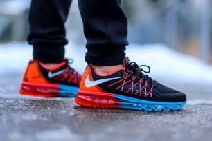 Sepatu Bola Nike Air Max nike air max 2015 blue lagoon bright crimson kicksonfire