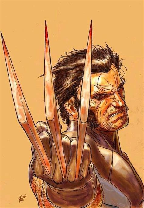 Kaos Wolverine Wolverine Logan By Crion bones claws marvel comic and