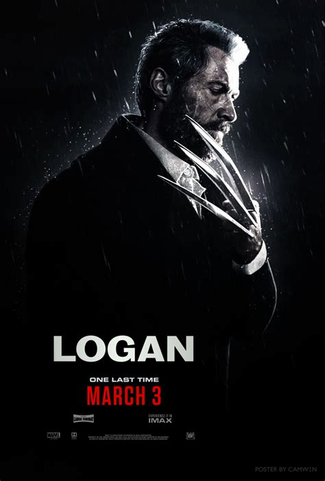 logan 2017 poster 1 by camw1n on deviantart