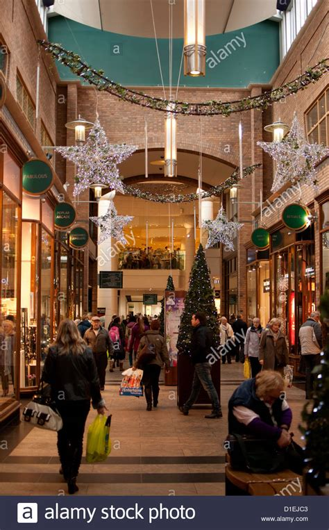 touchwood shopping centre at christmas solihull west
