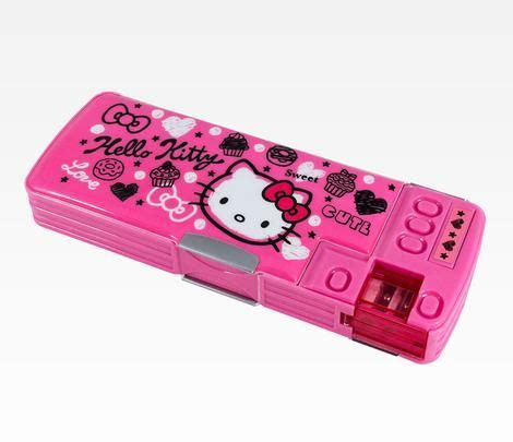 Tempat Pensilpencase Hello Kity Pink hello deluxe pencil squiggle 19 95 has many