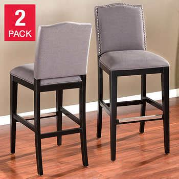 Cosco Stools With Backs by Counter Height Barstools Costco