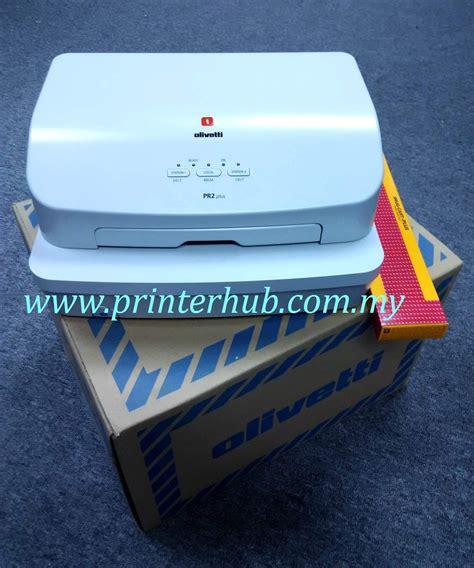 Passbook Printer Olivetti Pr2 Plus olivetti pr2 plus passbook printer