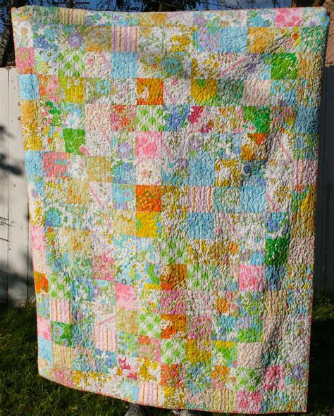 Quilt Bed Sheet Vintage Bed Sheet Quilt