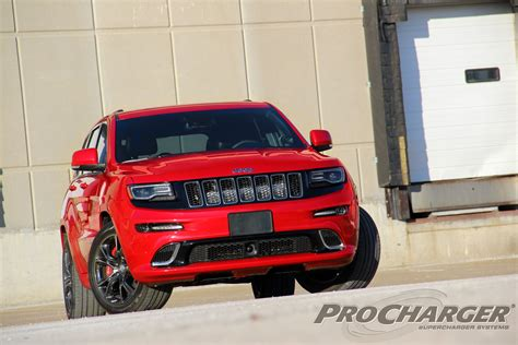 Jeep Charger Procharger Superchargers Makes Jeep Srt Grand