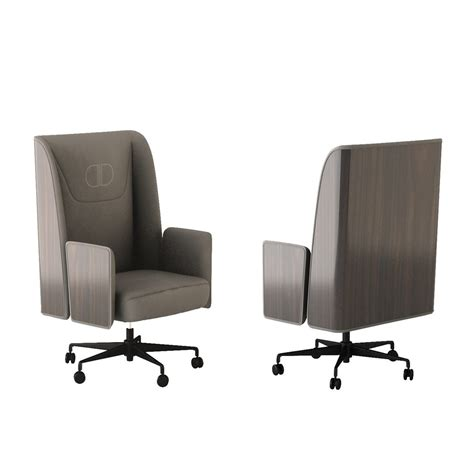 leather office armchair touched d canaletto walnut leather upholstered office