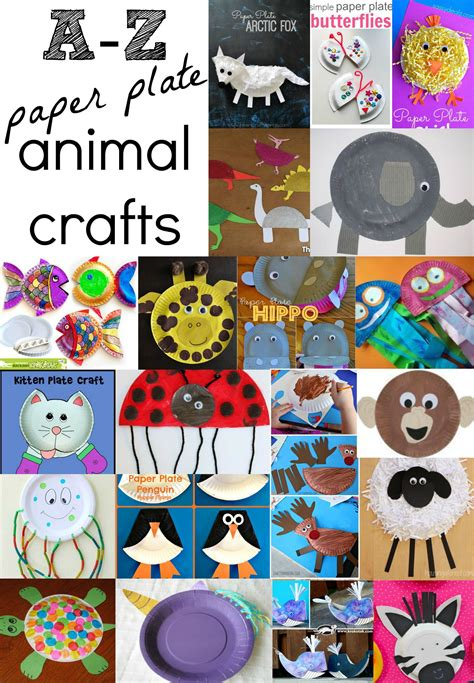 a z of animal paper plate crafts 101 things to do with