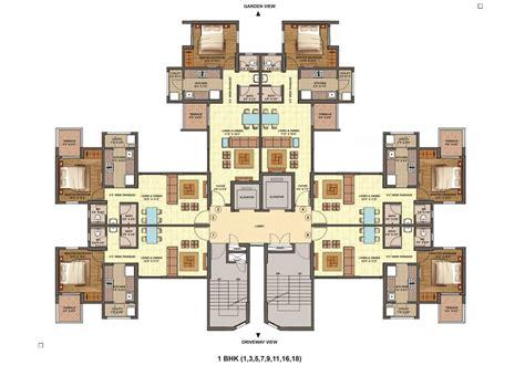 2 bhk apartment floor plans floor plans lodha palava city codename riverside