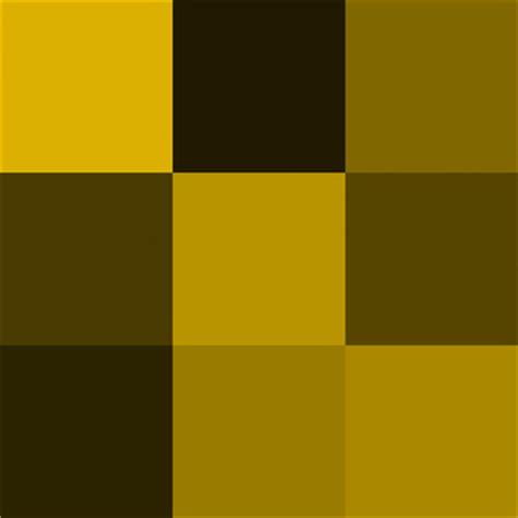 color dorado la galeria de las sombras