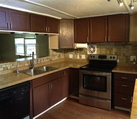 Mobile Home Kitchens by 1973 Pmc Mobile Home Remodel