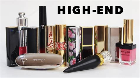 high end swatch review high end lipstick collection part 1