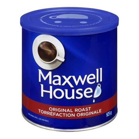 Maxwell House by Maxwell House Tin Original Roast Ground Coffee Walmart Ca