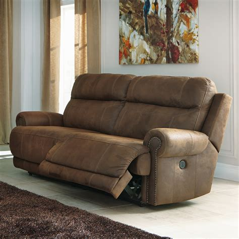 austere power reclining sofa signature design by ashley austere 2 seat reclining sofa
