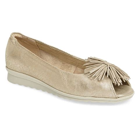 peep toe flat shoes the flexx boco loco peep toe flat flats