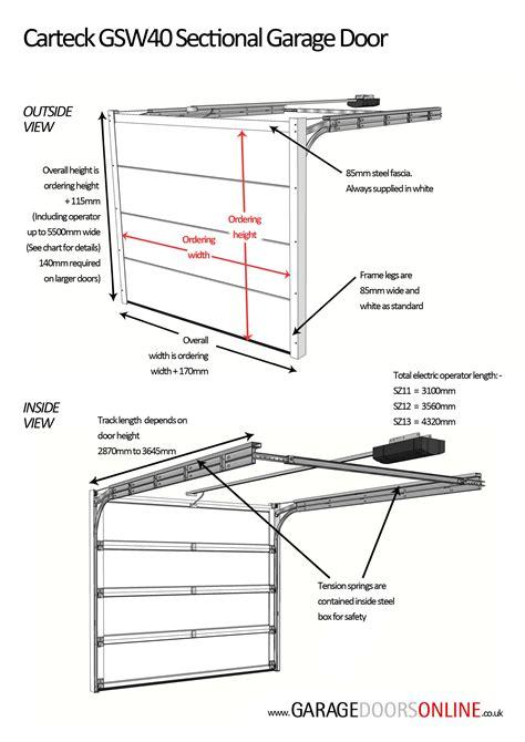Overhead Door Installation Manual Sectional Garage Door Installation Manual Ggetair