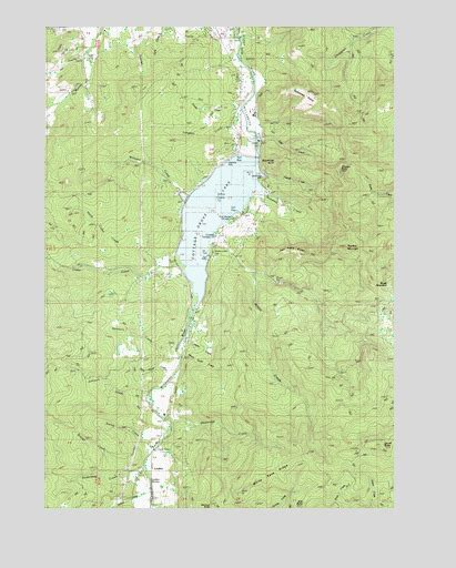 cottage grove lake or topographic map topoquest
