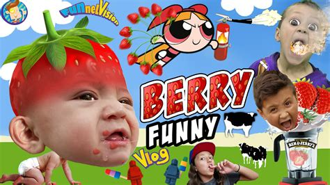 BERRY FUNNY VLOG!! FUNnel Vision Kitchen Family Fun