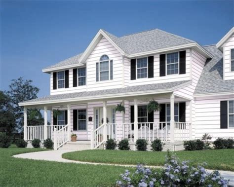 houses with white siding the best colour for vinyl siding