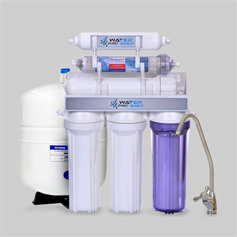 osmosis water filters 6 stage water osmosis filter system w ph alkaline 100 gpd ebay