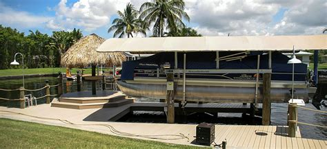 boat lift canopy cape coral hickcox brothers marine cape coral boat lifts cape coral