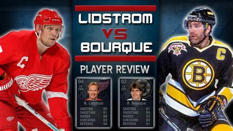 nhl 15 hut legend player review bure vs gretzky youtube nhl 15 hut legend player review lidstrom vs bourque