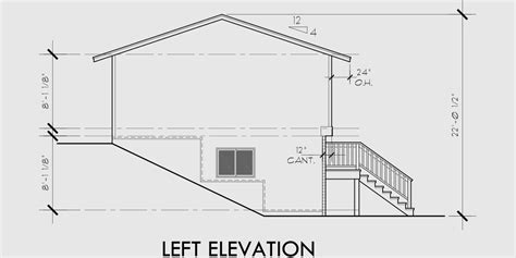 side split house plans split level house plans small house plans