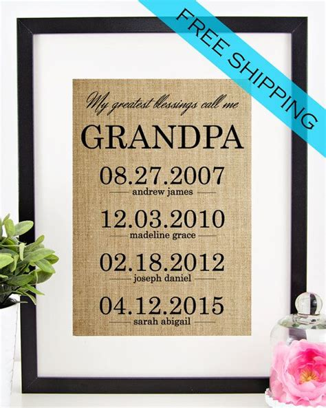 personalized fathers day gifts personalized gift for fathers day gift for